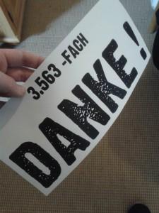 3563-fach Danke!